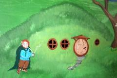 Bilbo at home